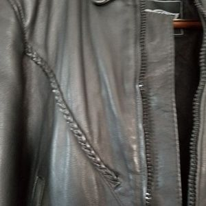 Unik Jackets & Coats - Thick Leather Ladies Unik riding Jacket